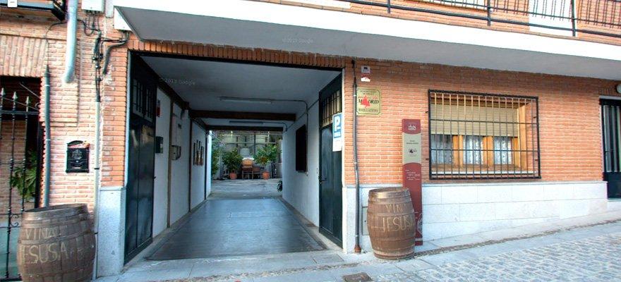 Entrada Bodegas Muñoz Martin