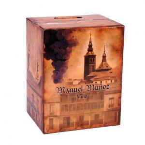 Caja de Vino Manuel Muñoz a granel de Bodegas Muñoz Martin 2