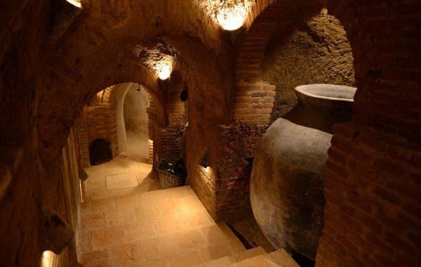 Cuevas visitables en Navalcarnero de Bodegas Muñoz Martin