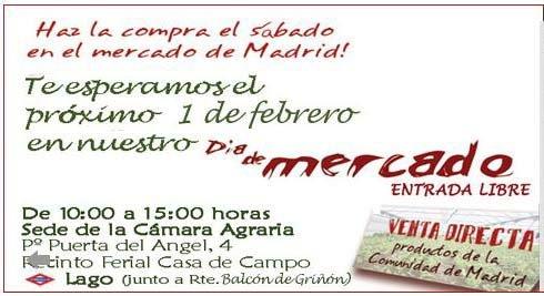 ¡Día de Mercado! Visítanos!!
