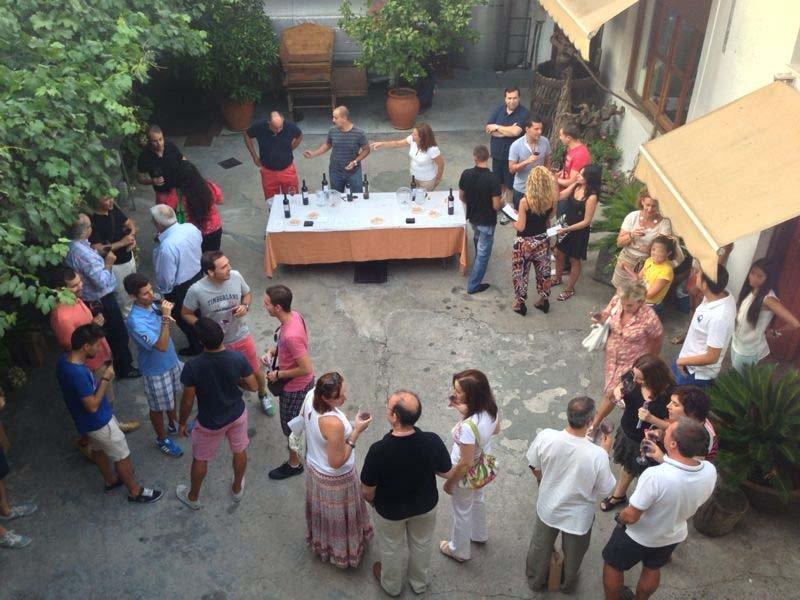 Actividad dentro del Festival de las artes de Navalcarnero