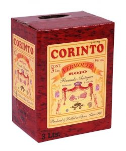 Caja Bag in Box 3L Vermouth Formula Antigua Corinto